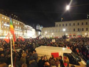 Anti-Pegida-Demo in München, Dezember 2014