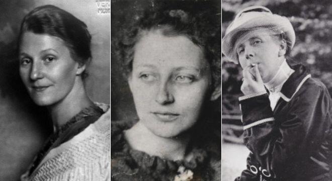 Frauen und Erinnerungskultur | #femaleheritage: Lena Christ, Franziska zu Reventlow, Annette Kolb. Quelle: Münchner Stadtbibliothek/Monacensia