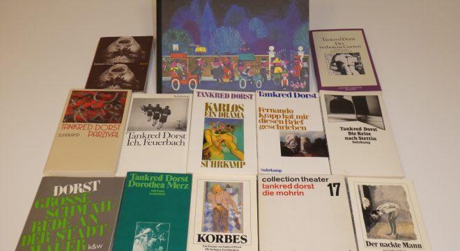 Ein großer Schatz: Die Bücher von Tankred Dorst werden seit seit 1959 in der Monacensia gesammelt. Foto: Stephan Anders