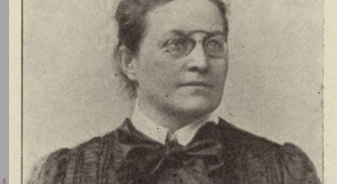 Anna Pappritz auf dem internationalen Frauenkongress 1904 in Berlin. (AddF, Kassel, Sign. D1-00290 / Atelier Loescher & Petsch, Berlin, Public Domain / Gemeinfrei.) #femaleheritage