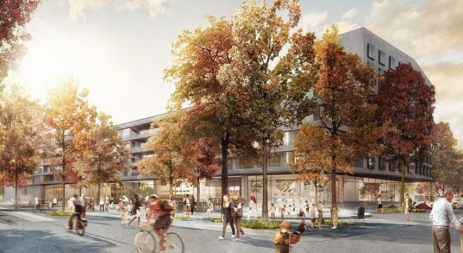 Elisabeth-Castonier-Platz in aktuellen Planungen ©Studio Vulkan Landschaftsarchitektur | #femaleheritage