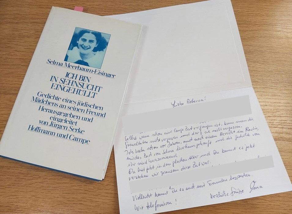 Gedichtband von Selma Meerbaum-Eisiger und Brief an Rebecca Müller | #femaleheritage