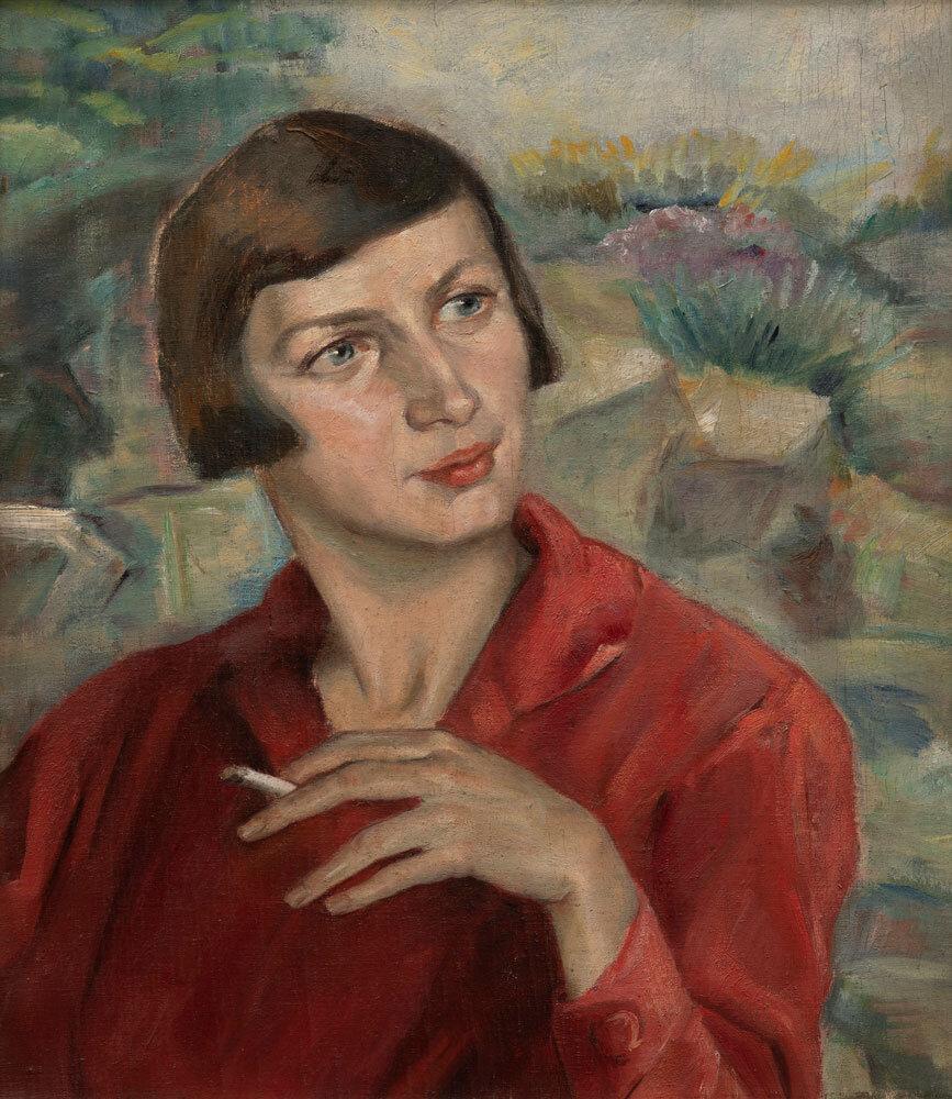 Maria Eberhard Porträt Maria Gögler, 1920er Jahre Privatbesitz Foto: Wolfgang Pulfer #femaleheritage