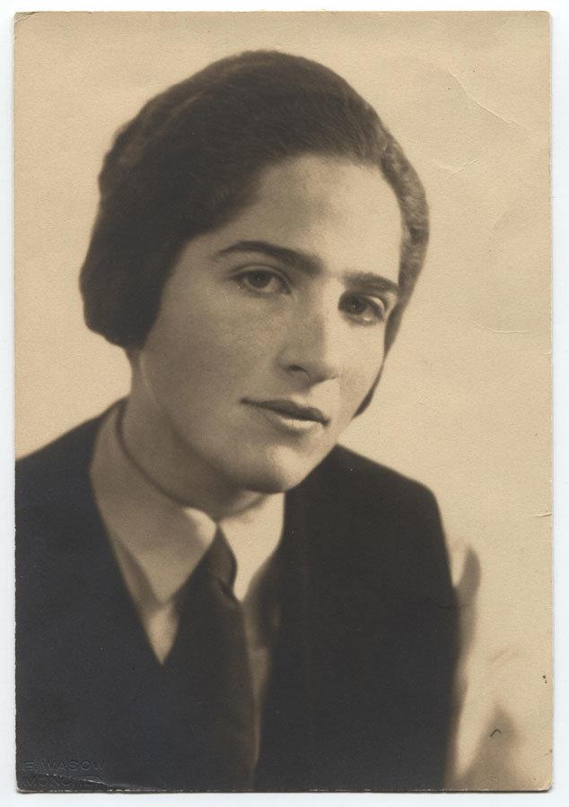 Grete Weil, ca. 1932. Foto: Monacensia / Münchner Stadtbibliothek, Signatur: GW-F-1 #2020JLID