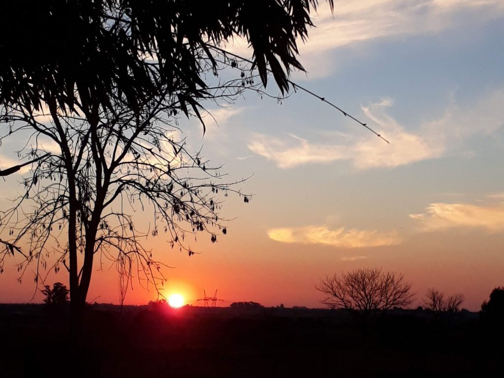 Sonnenuntergang in Entre Ríos (c) Lilian Almada