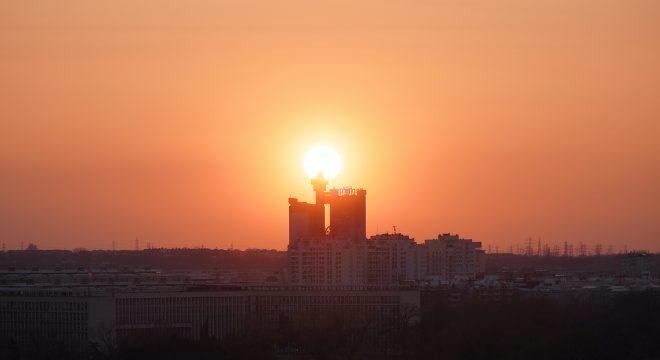 Genex-Turm in Belgrad, Foto von Ivan Aleksic / Unsplash
