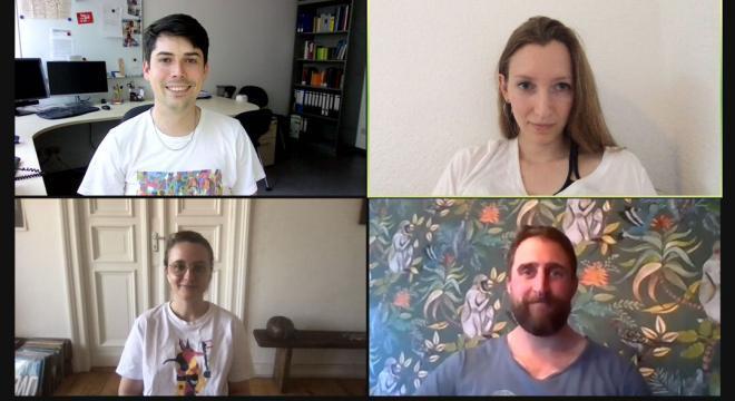 Die Künstlerische Leitung des ATELIER MONACO Festivals in digitaler Action für Euch!