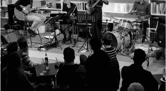 Jazz & Drinks – Reihe im Atelier der Monacensia im Hildebrandhaus. breites Publikum #deutungskaempfe